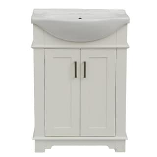 Legion Furniture 24-inch White Sink Vanity (No Faucet)