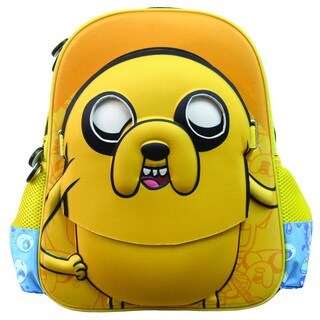 Adventure Time Jake 3D Cartoon Backpack with Mask