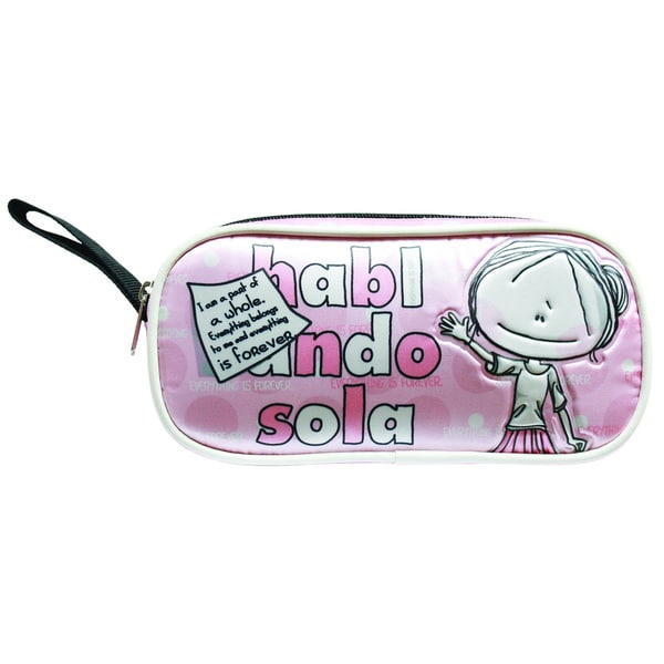 Hablando Sola Pink Part of Me Pencilcase