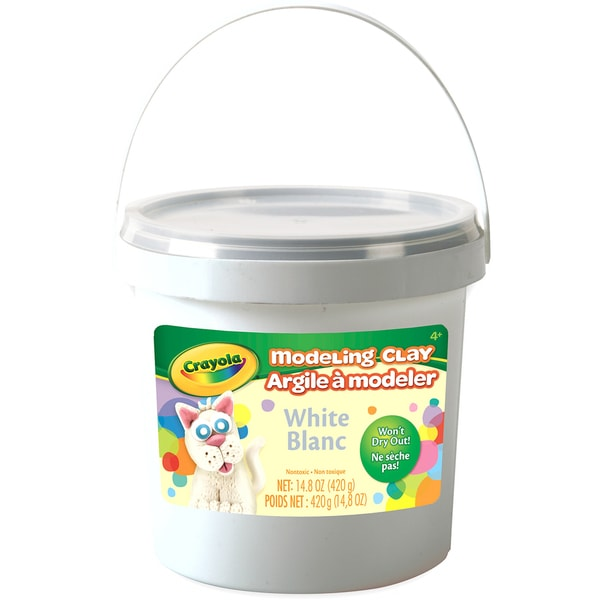 Crayola Modeling Clay 15oz White