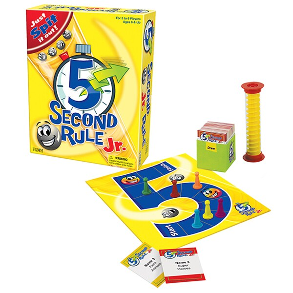 PATCH 5 Second Rule Jr. Board Game