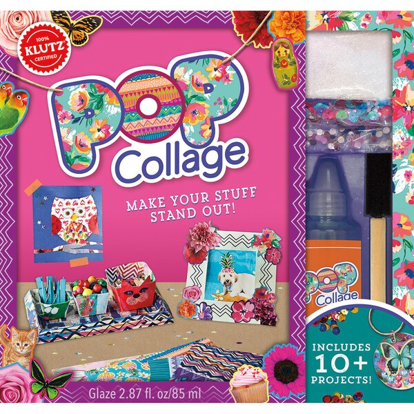 Pop Collage Book Kit