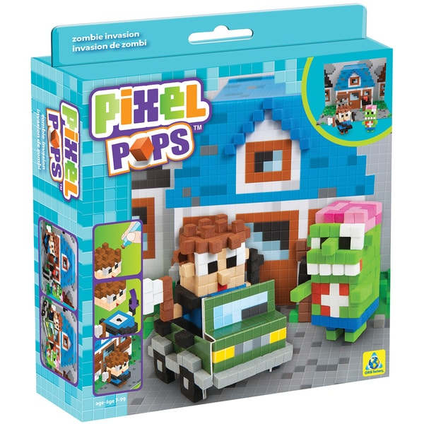 Pixel Pops Scene Kits Zimbie Invasion