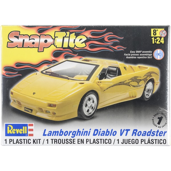 Plastic Model Kit Lamborghini Diablo VT Roadster 1:24