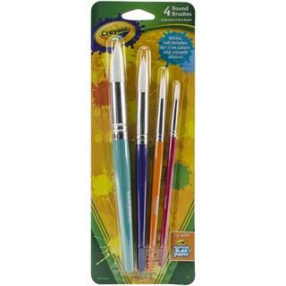 Crayola Paintbrushes Round 4/Pkg
