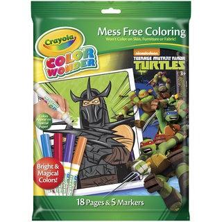 Crayola Color Wonder Coloring Kit Teenage Mutant Ninja Turtles