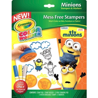 Crayola Color Wonder Stamper Kit Minions