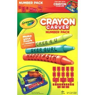 Crayola Crayon Carver Crayon Expansion Pack Numbers