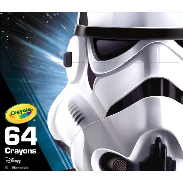 Crayola Star Wars Crayons 64/Pkg Storm Trooper