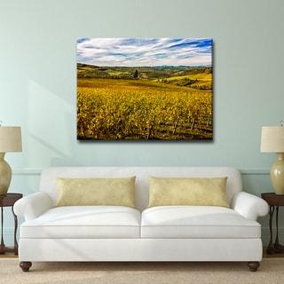 Ready2HangArt Bruce Bain 'Tuscan Landscape VII' Canvas Art