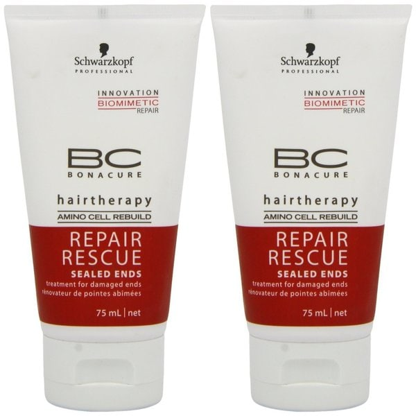 Schwarzkopf BC Bonacure 2.6-ounce Repair Rescue (Pack of 2)