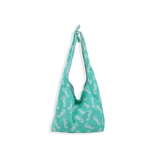 All For Color Sea Horse Knot Hobo Bag