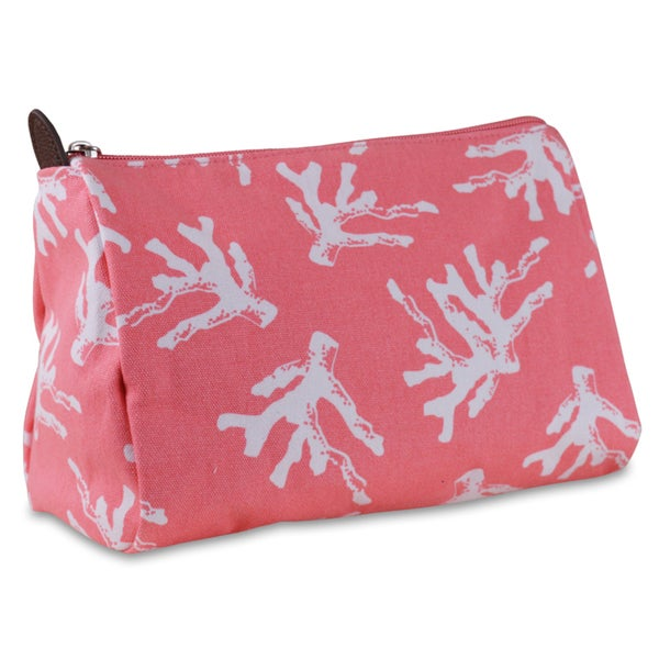 All For Color Sea Coral Cosmetic Pouch