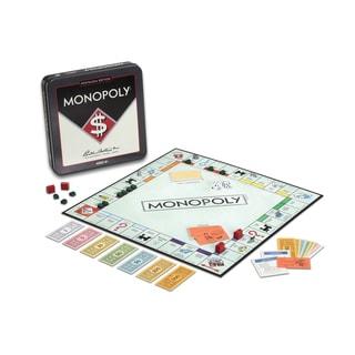 Monopoly Board Game Nostalgia Edition Game Tin