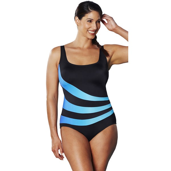 Aquabelle Ombre Splice Swimsuit