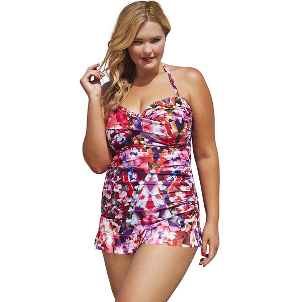 Shore Club Edgelands Bandeau Swimdress