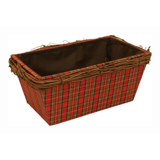 Double Wood Planter - Set of 3, 4 in