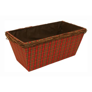 Double Wood Planter - Set of 3, 6 in