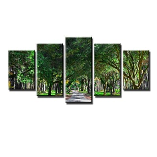 Ready2HangArt Bruce Bain 'Genesis' 5-PC Canvas Art Set