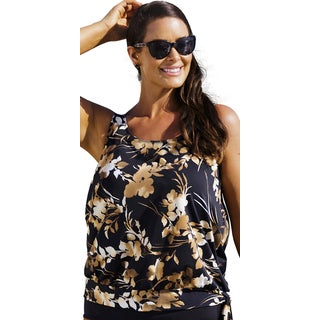 Beach Belle Brown Eyed Girl Blouson Top