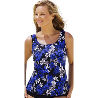 Beach Belle Royal Flowers Classic Top