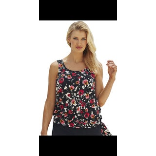 Beach Belle Wildflower Blouson Top