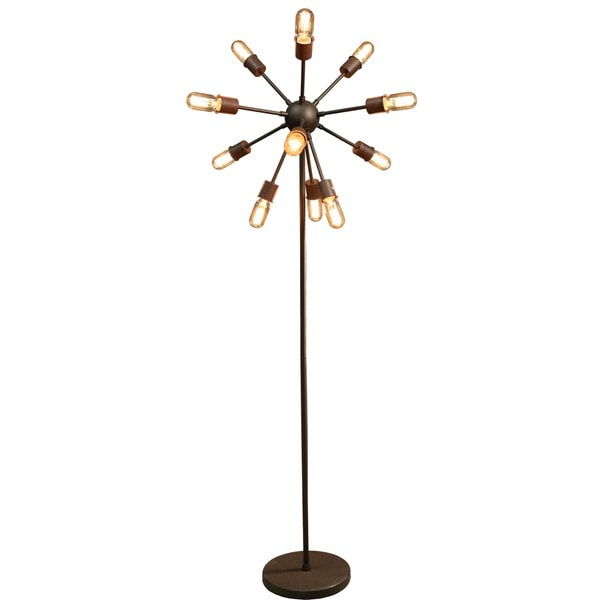 celia 12 light antique bronze 30 inch edison table lamp with bulbs. Black Bedroom Furniture Sets. Home Design Ideas