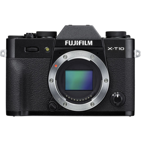 Fujifilm X-T10 Mirrorless Digital Camera (Black, Body Only)