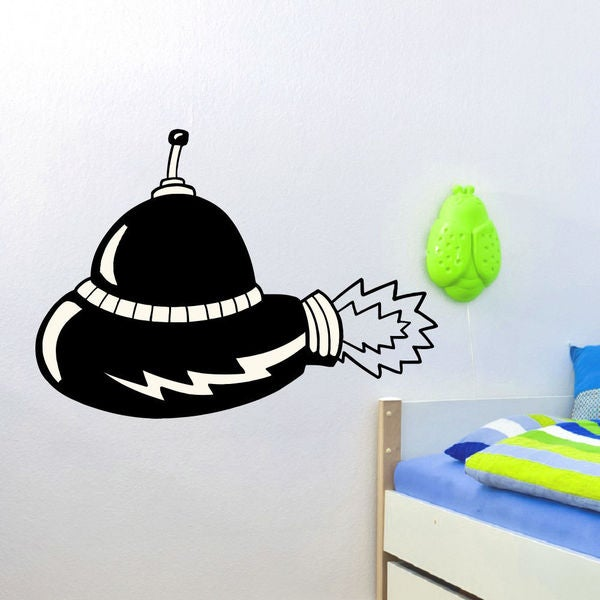 Extraterrestrial Aliens Wall Art Sticker Decal