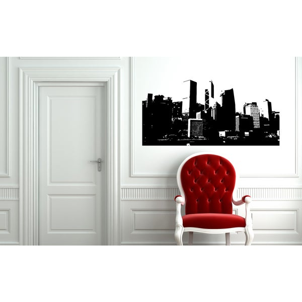 San Francisco Building Houses Wall Art Sticker Decal