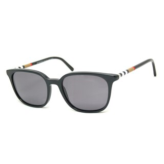 Burberry Men's BE4144 Rectangular Sunglasses