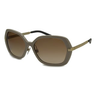 Burberry Women's BE4153Q Rectangular Sunglasses