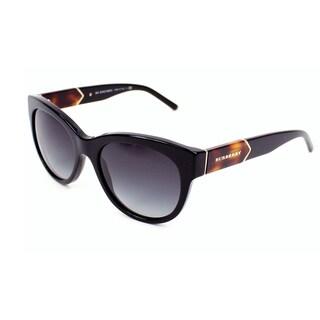 Burberry Women's BE4156 Rectangular Sunglasses