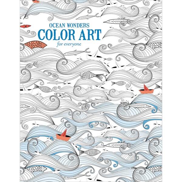 Leisure Arts Ocean Wonders Color Art