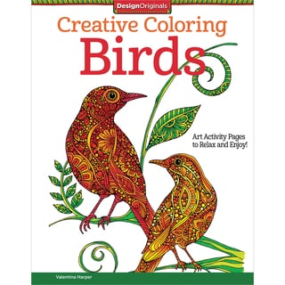 Design Originals Creative Coloring Birds