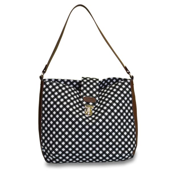 Sloane Ranger Gingham Shoulder Bag