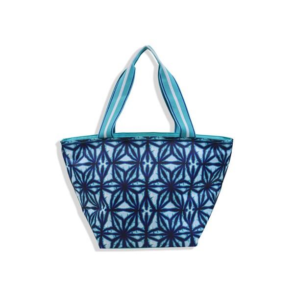 All For Color Indigo Batik Lunch Bag