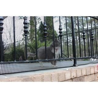Cardinal Gates Black Heavy Duty Outdoor Netting