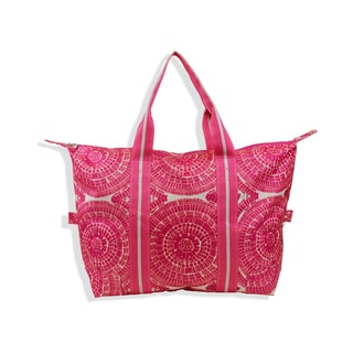 All For Color Sunburst Travel Tote