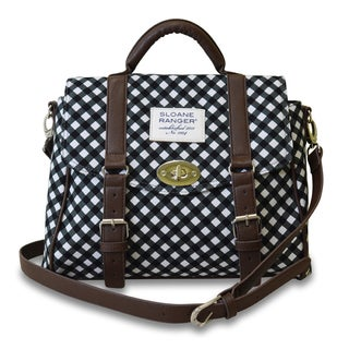Sloane Ranger Gingham Handle Top Bag