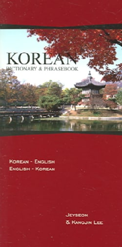 Korean Dictionary & Phrasebook: Korean-English/English-Korean (Paperback)