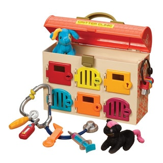 B. Toys B. Critter Clinic Toy Vet Play Set