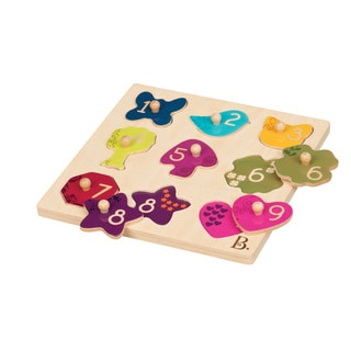 B. Toys B. Eye View Puzzle Plank Toy