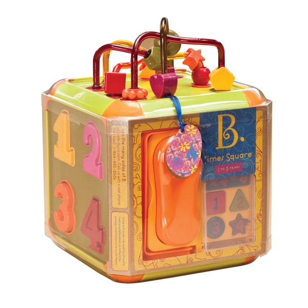 B. Toys B. Times Square Activity Cube 17288777