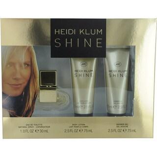Heidi Klum Shine Women's 3-piece Gift Set