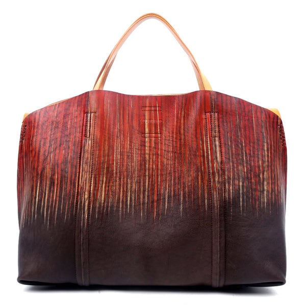 Old Trend OT13008-D Drift Forest Island Flame Grey Tote