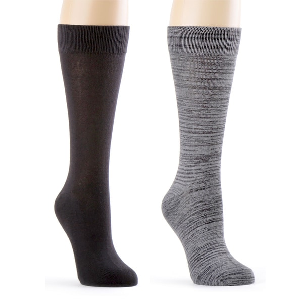 High Quality Super Soft Men's Dress Crew Sock 4 Pk - With Gift Bow