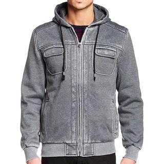 XRay Men's Burnout Fleece Zip-Up Jacket