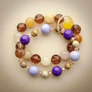 Blooming Iris Bracelet