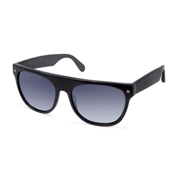 Cynthia Rowley Eyewear Unisex Blue Square Plastic Sunglasses